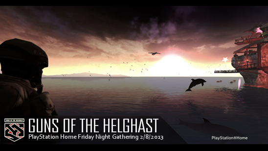 Guns of the Helghast . Southern Island Hideaway . Friday Gathering