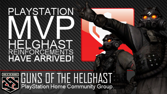 Guns of the Helghast PLAYSTATION MVP HELGHAST HAVE ARRIVED