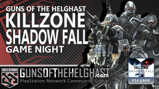 Guns of the Helghast Killzone Shadow Fall Game Night