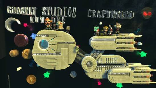 Ghastly Studios Invade Craftworld