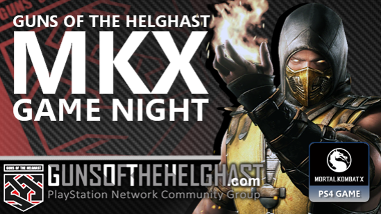 Guns of the Helghast Mortal Kombat Game Night