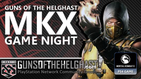 Guns of the Helghast Mortal Kombat Game Night
